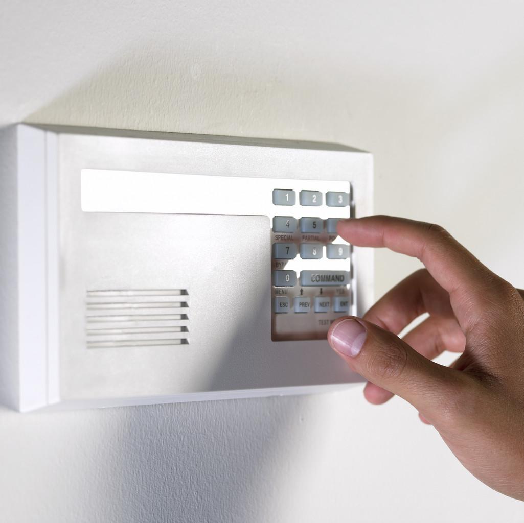 disarming alarm system