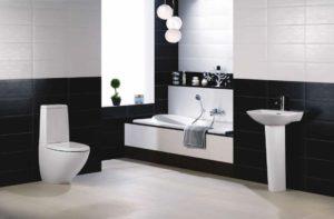Недорогая и практичная сантехника и аксессуары в ванную комнату.